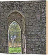 Church Doorway Wood Print