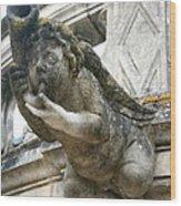 Church Gargoyle Wood Print