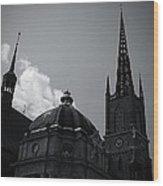 Church I Wood Print