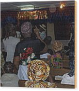 Church In Nigeria Wood Print