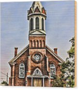 Church In Sprague Washington 2 Wood Print