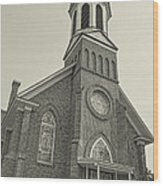 Church In Sprague Washington 4 Wood Print
