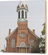 Church In Sprague Washington Wood Print