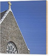 Church In Tacoma Washington 2 Wood Print