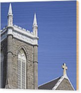 Church In Tacoma Washington 4 Wood Print