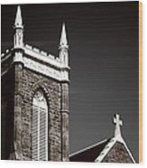 Church In Tacoma Washington 5 Wood Print