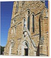 Church Mass Wood Print