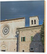 Church Of  Di San Pietro In Assisi Wood Print