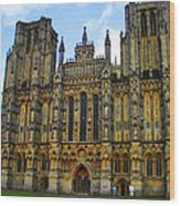 Church Of England Wood Print
