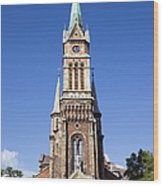 Church Of Ferencvaros In Budapest Wood Print