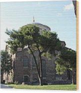 Church Of Hagia Eirene I - First Courtyard Topkapi Palace Wood Print