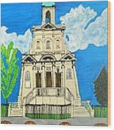 Church Of Holy Saint .danforth Wood Print