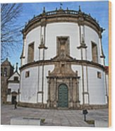 Church Of Monastery Of Serra Do Pilar In Portugal Wood Print