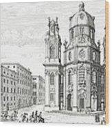 Church Of Notre Dame, Salzburg Wood Print