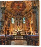 Church Of Saint Agnes Wood Print