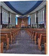 Church Of Saint Columba Wood Print