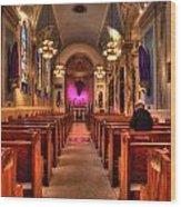Church Of Saint Louis Wood Print