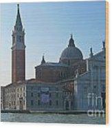Church Of San Giorgio Maggiore Wood Print
