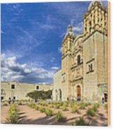 Church Of Santo Domingo De Guzman In Oaxaca Wood Print