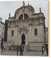 Church Of St. Blasius Wood Print