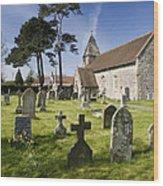 Church Of St John The Evangelist - Kenn - North Somerset Wood Print