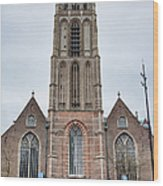 Church Of St Lawrence In Rotterdam Wood Print