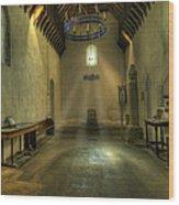 Church Of St Seiriol Wood Print