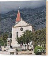 Church Of St.mark Makarska Wood Print