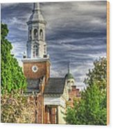 Church Of The Abiding Presence 1a - Lutheran Theological Seminary At Gettysburg Spring Wood Print