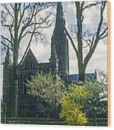 Church Of The Blessed Mary Wood Print