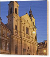 Church Of The Holy Spirit In Warsaw Wood Print