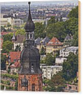 Church Of The Holy Spirit Steeple Wood Print