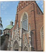 Church Of The Holy Trinity In Krakow Wood Print