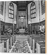Church Of The Nativity Wood Print