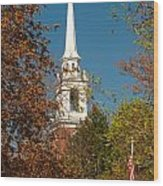 Church Of The Redeemer  From The Lexington Battlefield Wood Print