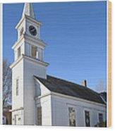 Church On The Cape Wood Print