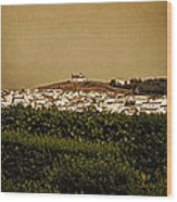 Church On The Hill - Andalusia Wood Print