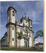 Church Ouro Preto Brazil 5 Wood Print