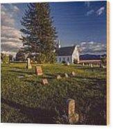 Church Potlatch Idaho 1 Wood Print