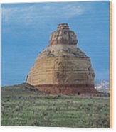 Church Rock On The Road To Moab Wood Print