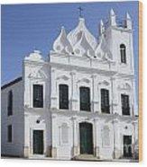 Church Sao Luis Brazil Wood Print