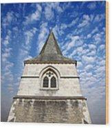 Church Spire Wood Print