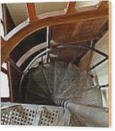 Church Stairs Wood Print