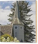 Bishopscourt Bell Tower Wood Print