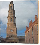Church Street In Charleston Sc Wood Print