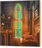 Church Vestibule Wood Print