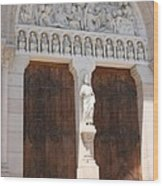 Churchdoor - Saint Peter - Macon Wood Print