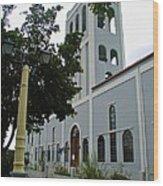 Ciales Catholic Church Wood Print