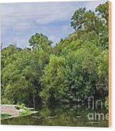 Cibolo Creek  Wood Print