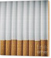 Cigarettes Wood Print